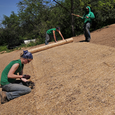 Slope Erosion Control With Good Oak Ecological Services